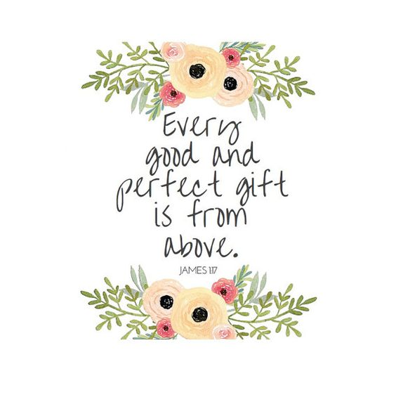 James 1 17 Print Every Good And Perfect Gift Is By