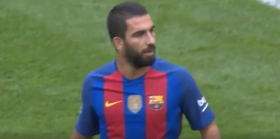 Aleix Vidal and Arda Turan combined for a spectacular goal to open the scoring in Barcelona FC's 3-1 defeat of Cel...
