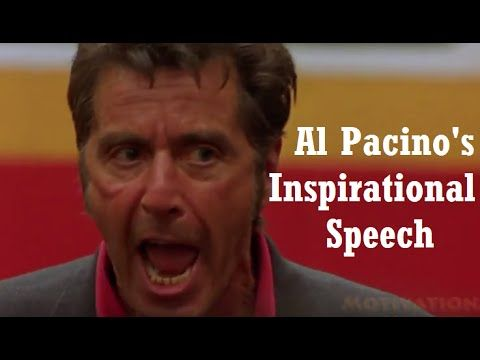 [Video] Al Pacino's Inspirational Speech in Any Given Sunday is incredibly motivating