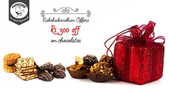 Return the love and make the #Bandhan stronger this #Rakshabandhan Celebrate with #Chocolates #Cakes and #Gifts INR 300 OFF*! Download App To Avail The Offer: 9nl.us/PinDG