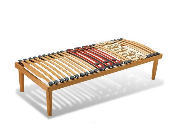Rete letto singolo in legno, versione fissa.  #retiletto #reteinlegno