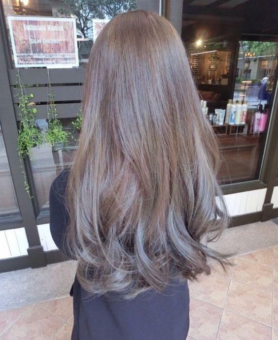 Light Ash Hair: