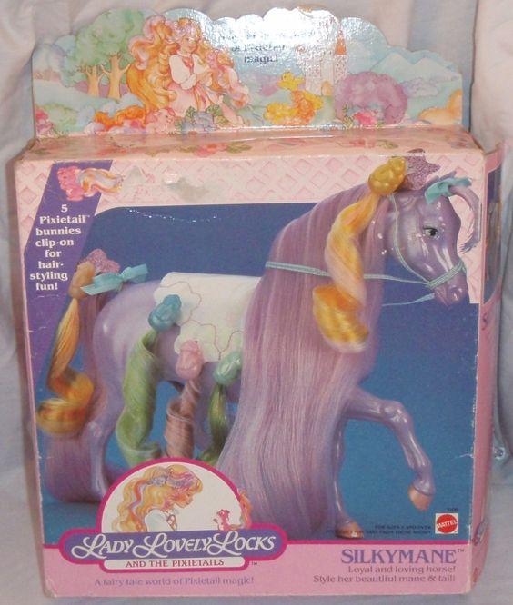 Silkymane Lady Lovely Locks Horse. via Etsy. Want it!!!!!! Mine was broken many years ago :(