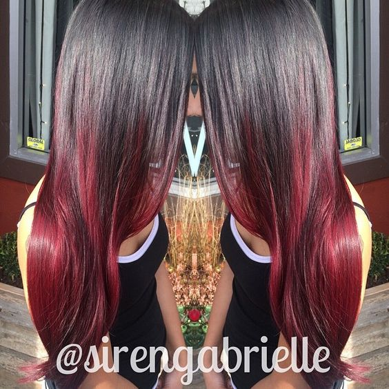 360.953.7308 ❤️ #sirensalon #asirenslifeforme #hairbysirengabrielle #washington #oregon #vancouver #portland #pdx #vancouverhair #portlandhair #ombre #sombre #colormelt #balayage #hairpainting #redombre #shinyhair #healthyhair #prettyhair #nofilter #btcpics #behindthechair #modernsalon #americansalon #beautylaunchpad #hef #angelofcolour #valentinesdayhair