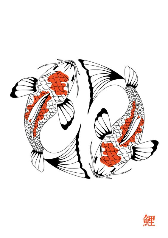Koi carp 2 by emma barratt via behance design for Koi fish quotes