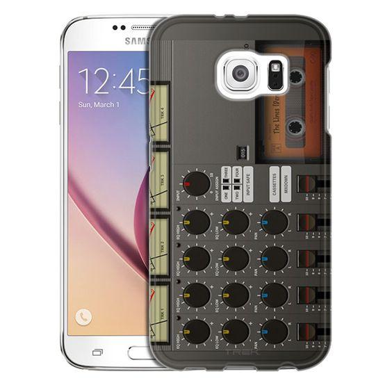 Samsung Galaxy S6 Cassette Mixer Recorder Slim Case