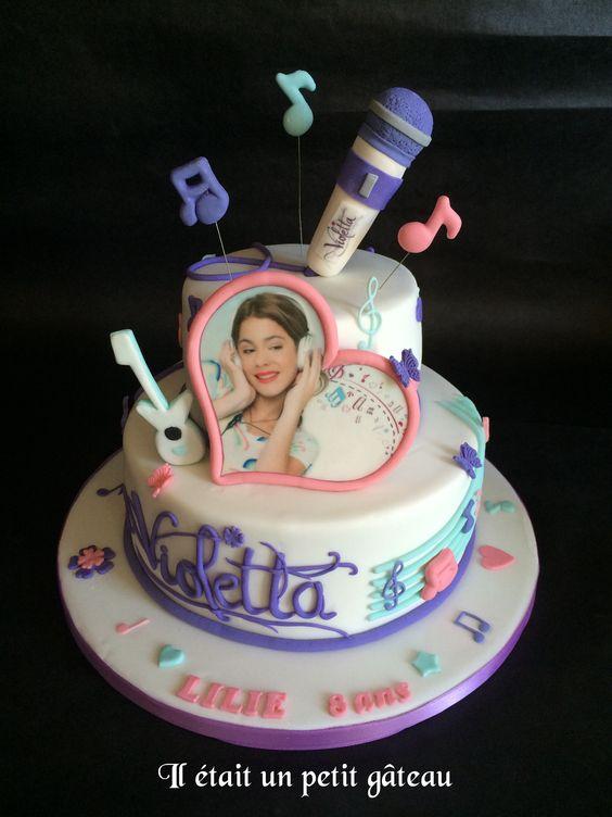 Cake Design Violetta : Violetta cake tarta violeta Pinterest Cakes