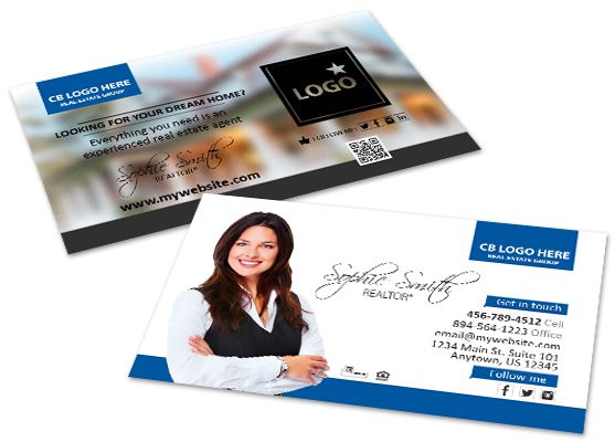 Coldwell Banker Business Cards Coldwell Banker Business Card Printing Printing Business Cards Printed Cards Cards