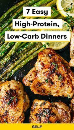 7 Easy High-Protein, Low-Carb Dinners
