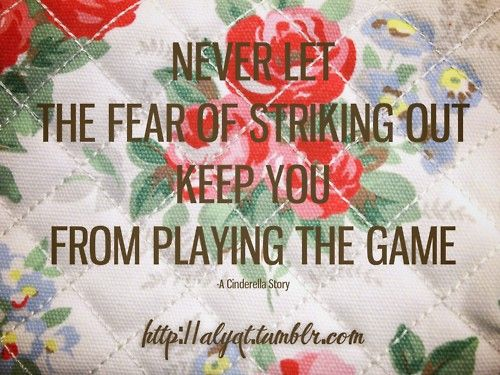 You can sit on the side lines, play not to lose, or play to win... what kind of player are you?