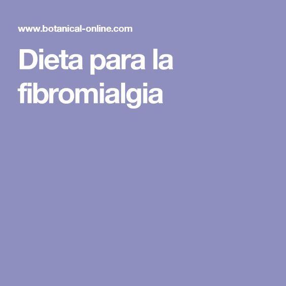 esempio dieta per fibromialgia