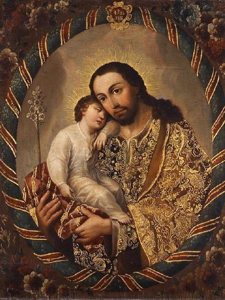 ¿Sabías que San José es el santo patrono de los escultores y entalladores #ColeccionesDelVirreinato