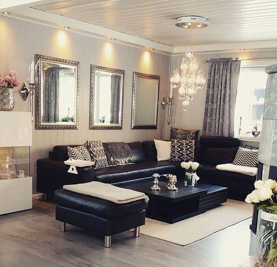 Mua sofa da thật ở đâu trang trí phòng khách đẹp và cá tính