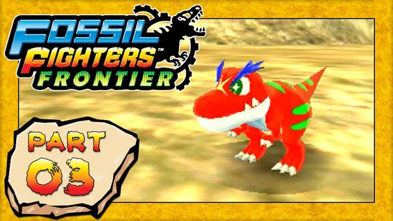 Fossil Fighters: Frontier - Part 3: Rollin' With Roland! [HD English Walkthrough]