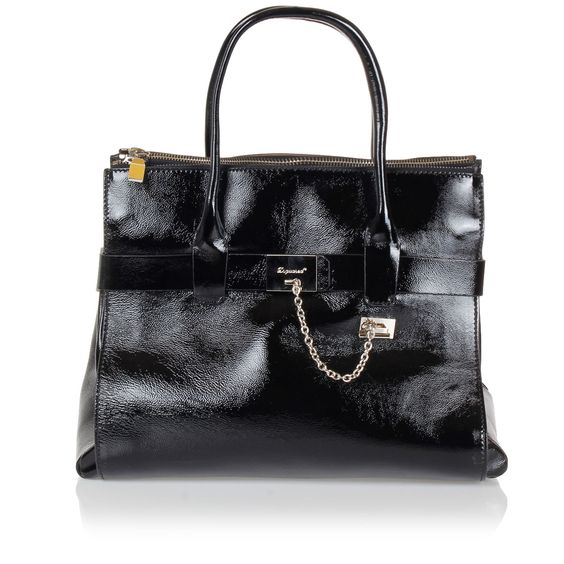 Dsquared2 Women Patent Leather Handbag - Spence Outlet