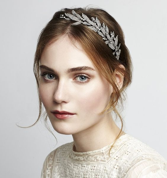 The most stylish of New York brides-to-be are currently fighting over Jennifer Behr's new bridal collection of expert headbands and elegant comb accessories.  Be inspired by these pieces for your own upcoming nuptials.
