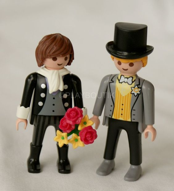 mariage gay and playmobil on pinterest. Black Bedroom Furniture Sets. Home Design Ideas