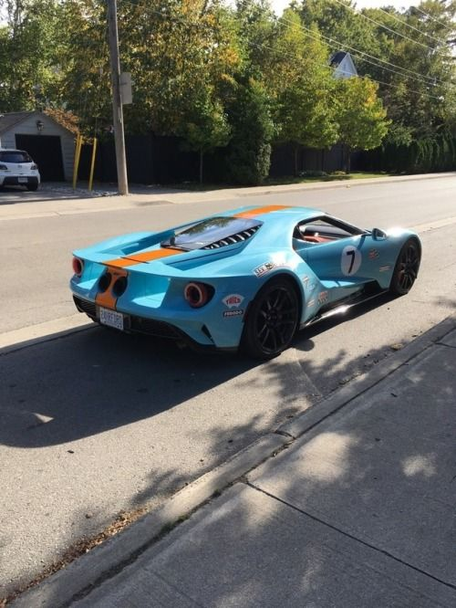 Gulf Oil Ford Gt Via Reddit Ford Gt Super Cars Cars