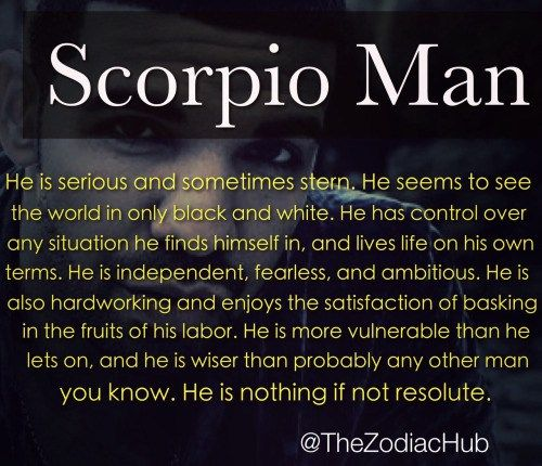 How To Turn On A Scorpio Man