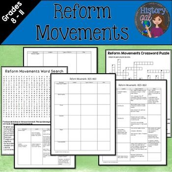 american reform movements between 1820 and The revivalism that spread across the country during the antebellum era also  gave rise to numerous social reform movements, which challenged americans to .