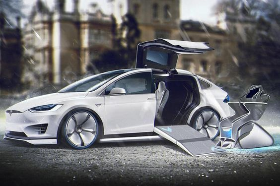 Professor X – Tesla Model X