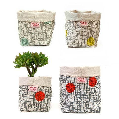 Soft Buckets in the Gridly print – Skinny laMinx