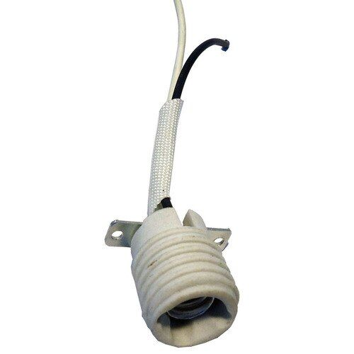 Shop Harbor Breeze 60 Watt White Lamp Socket In The Light Sockets Section Of Lowes Com With Images Ceiling Fan With Light Fan Light Lamp Socket