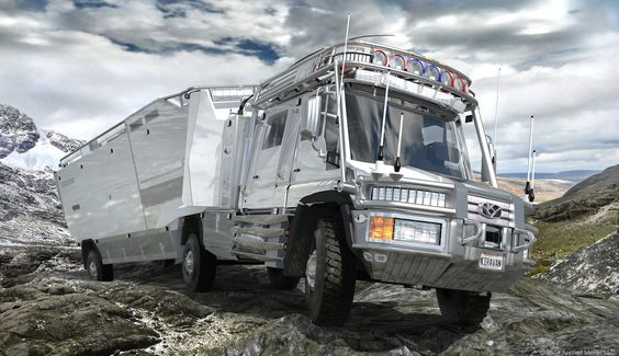 This 51,000lb 6x6 RV called the KiraVan is one of the most incredible survival vehicles we've ever seen, and one hell of a father-daughter project.