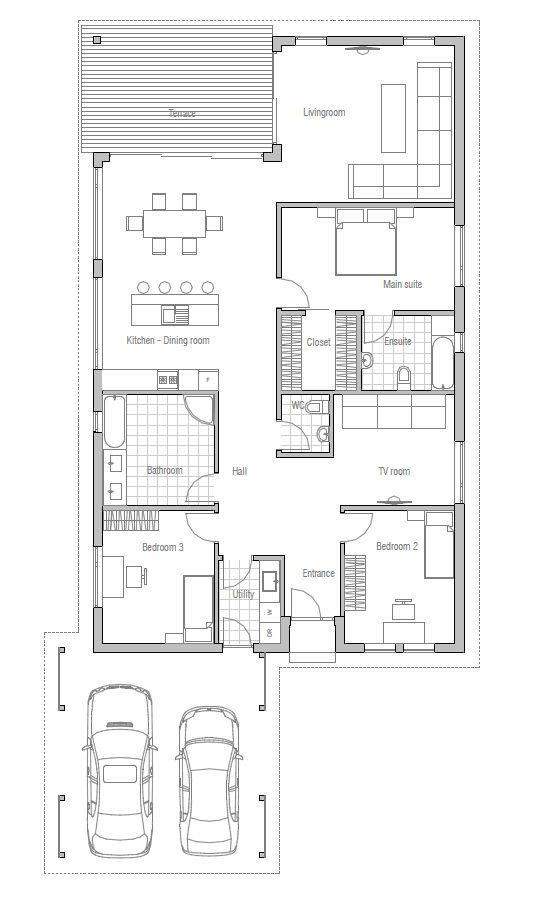 House Plan Oz71 Southern House Plans Modern House Floor Plans Modern House Plans Home floor plans modern