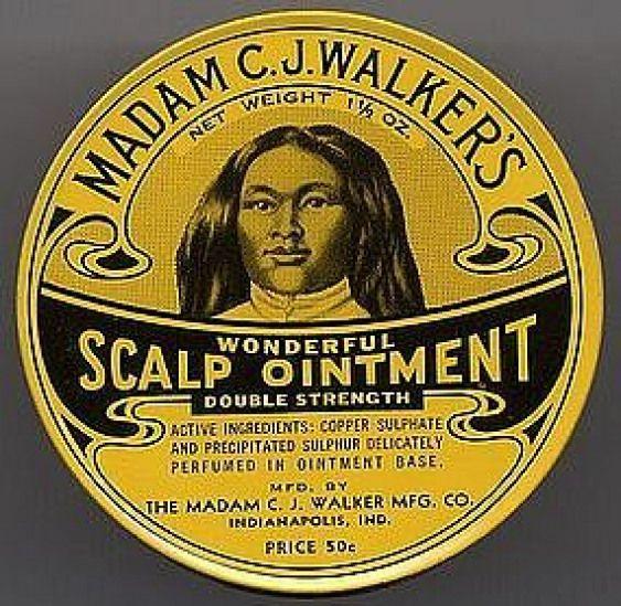 Madam C J Walker Hair Products Madam C J Walker Self Made Millionaire Hairproducts Hair Product In 2020 Madam Cj Walker Black History African American Culture