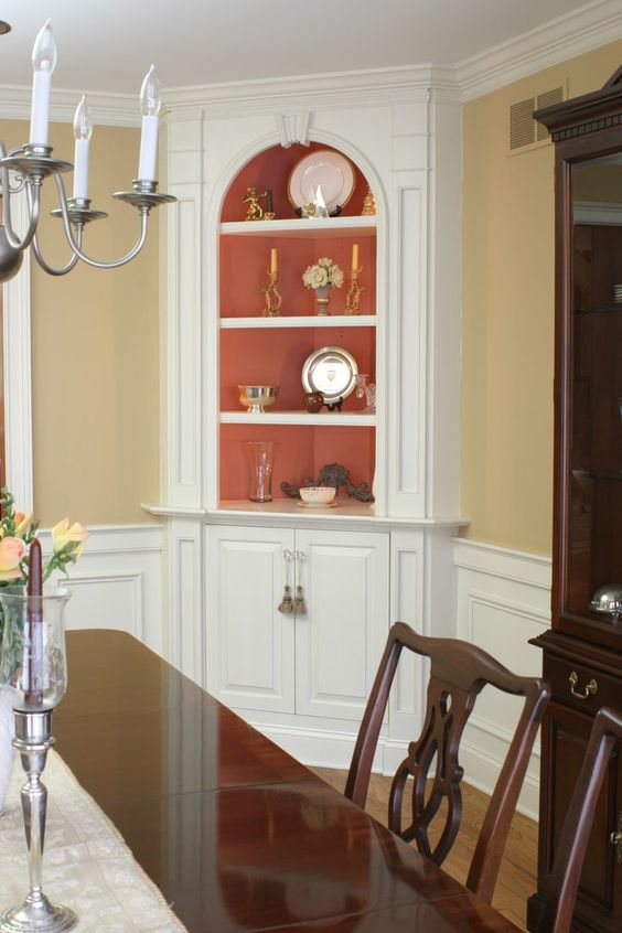 Corner Hutch, Hutch Cabinet And Small Dining Rooms On