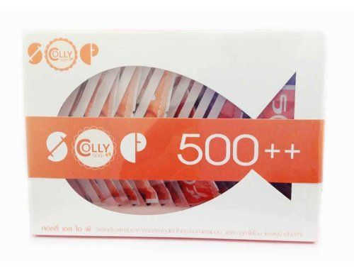 Beauty Set 2 Units of Colly Sop Colly Sop 500 Salmon Ovary - free sop