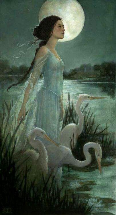 Moon maiden: