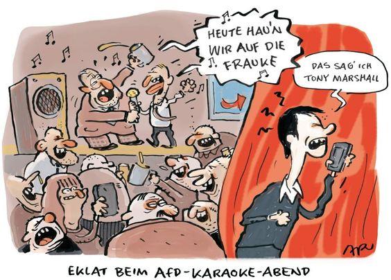SPAM Cartoon Ari Plikat AfD BW zerlegt sich - SPIEGEL ONLINE