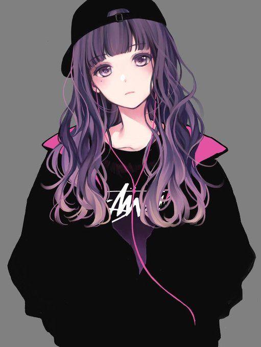 Twitter Chica Anime Gotica Chica Anime Chica Anime Kawaii