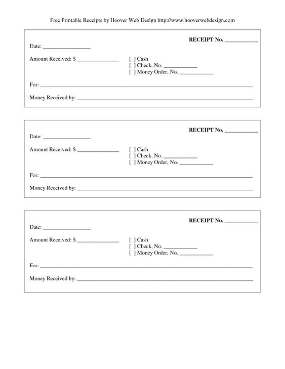 print receipt free printable receipt Stuff to Buy Pinterest - printable reciepts