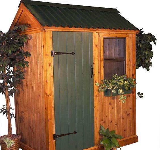Pinterest Garden Sheds: Image Detail For -Cedar Storage Sheds