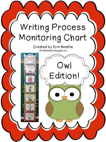 Writing Organization Woes Solved in Mrs. Beattie's Classroom! ~Owl Theme~
