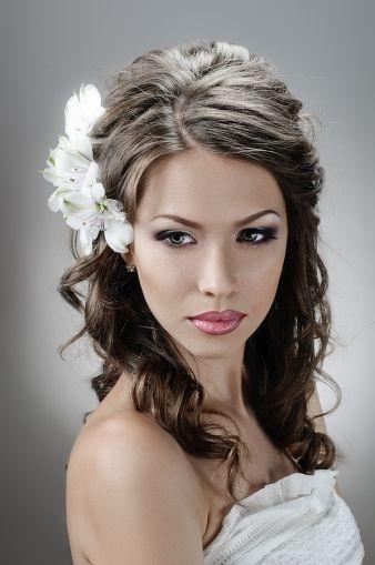 wedding hair style.