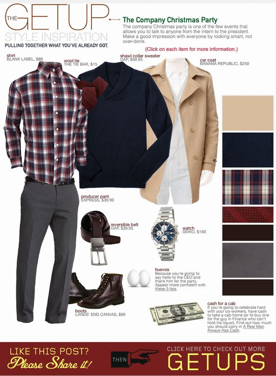 The Getup The Company Christmas Party | Christmas Parties Smart Casual And Winter Style