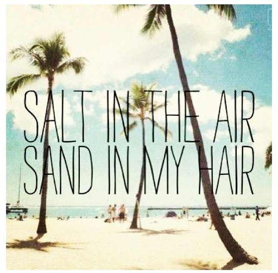 Salt in my hair #plamcove
