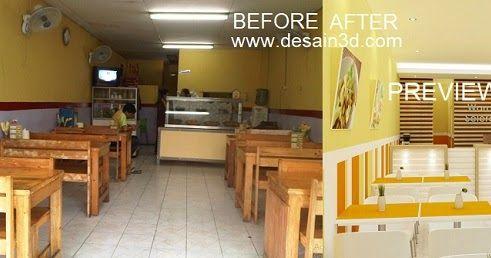 Preview Desain Renovasi Warung Makan Seperti Layaknya Restoran Kebanyakan Yg Tidak Ada Makanan Dipajang Dan Meja Kasir Tidak Terlihat …   Desain, Renovasi, Interior