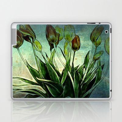 Tulip Design Laptop & iPad Skin by Fine2art - $25.00