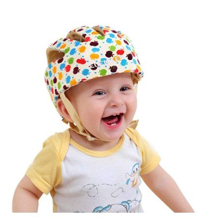 Infant Baby Toddler Safety Head Protection Helmet Kids Hat Headguard