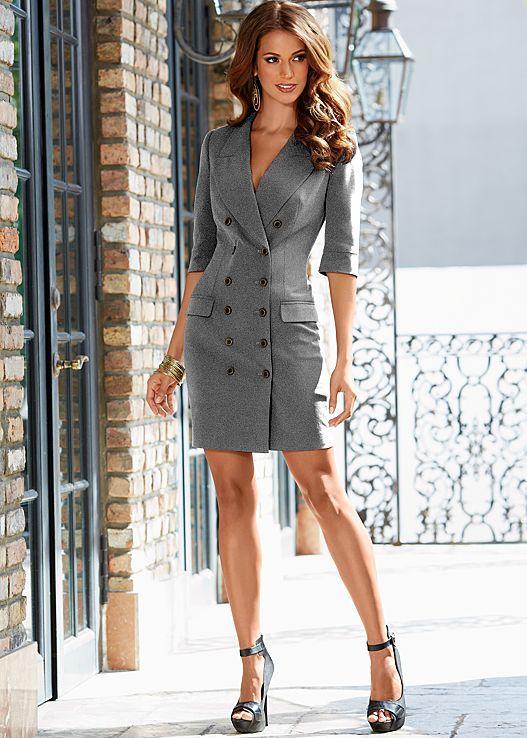 Grey Coat dress from VENUS. Sizes 2-16! | Fabulous Fall