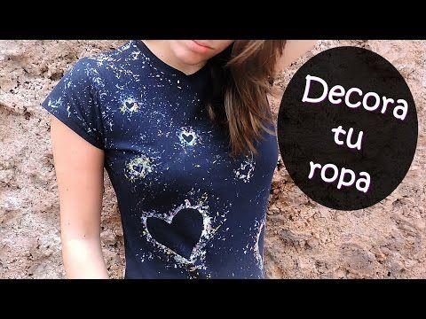 Disenos Con Cloro Disenos Unicos Con Cloro Youtube Ropa Camisetas Estampadas Remodelar Ropa