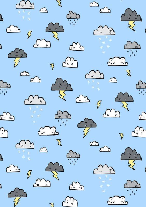 Hannah Radenkova: Illustrator: Clouds!