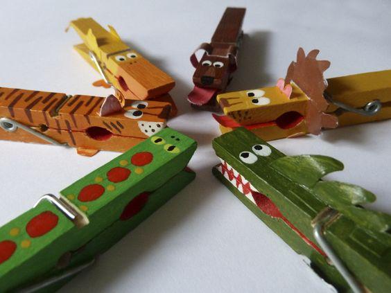 Animal Jungle #mollette #bambini