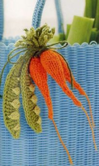 cute crocheted vegetables