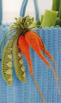 cute crocheted vegetables